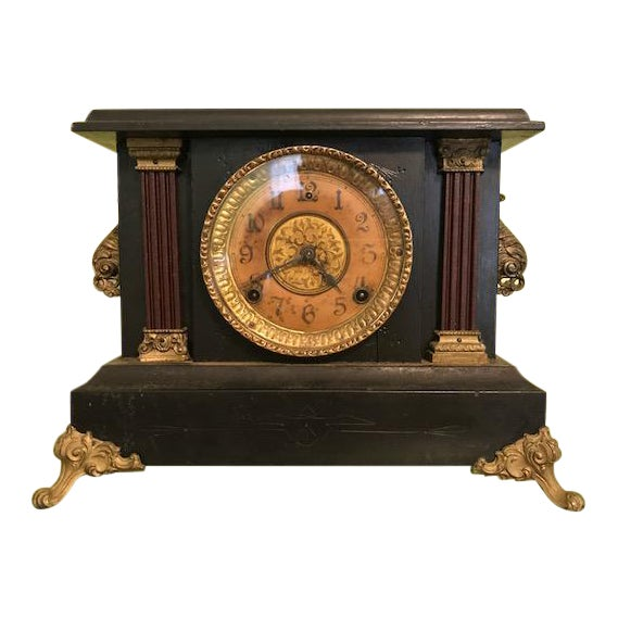 1911 Mantle Clock by Wm. L. Gilbert Clock Co. For Sale