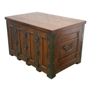 Vintage Drexel Heritage Et Cetera Storage Trunk Coffee Table For Sale