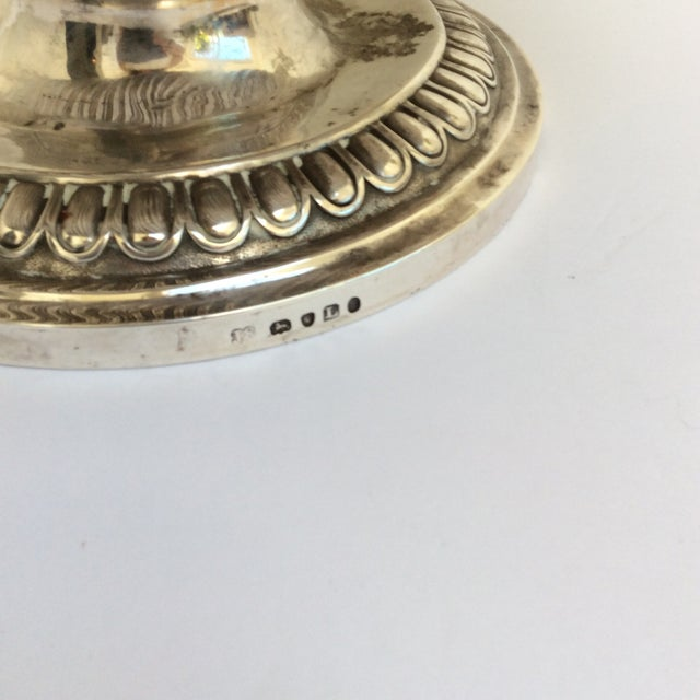 Silver Antique English Sterling Silver Punch Bowl For Sale - Image 8 of 11