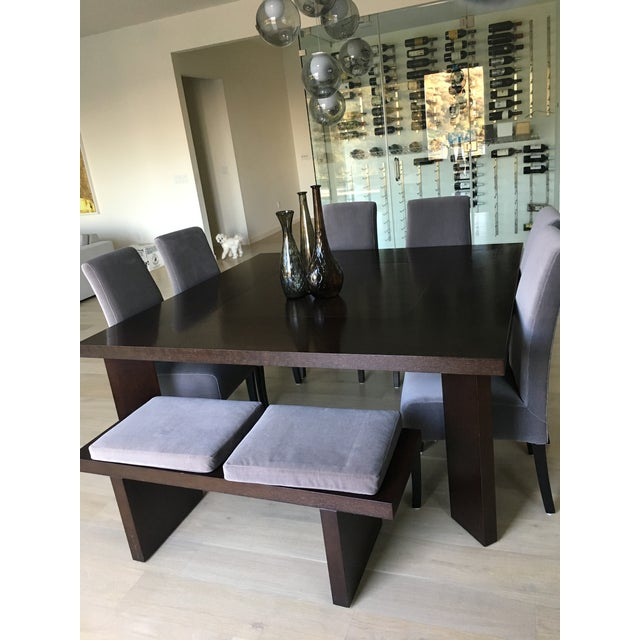 Modern Classic Dining Set & Vases For Sale - Image 4 of 11
