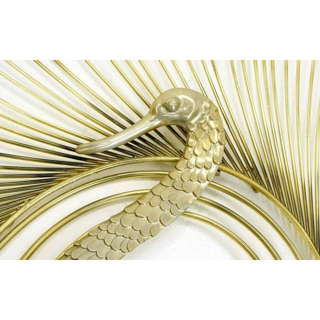 Curtis Jere Large Swan Wall Sculpture - Image 2 of 3