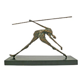 Jere Bronze Figural Sculpture For Sale