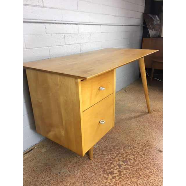 """Winchendon Furniture """"Planner Group"""" Paul McCobb Planner Series Desk For Sale - Image 4 of 9"""