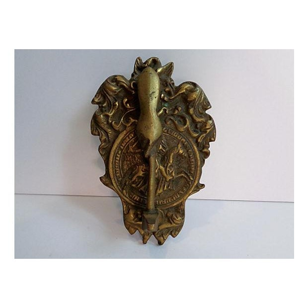Vintage Hand & Gavel Door Knocker - Image 2 of 4