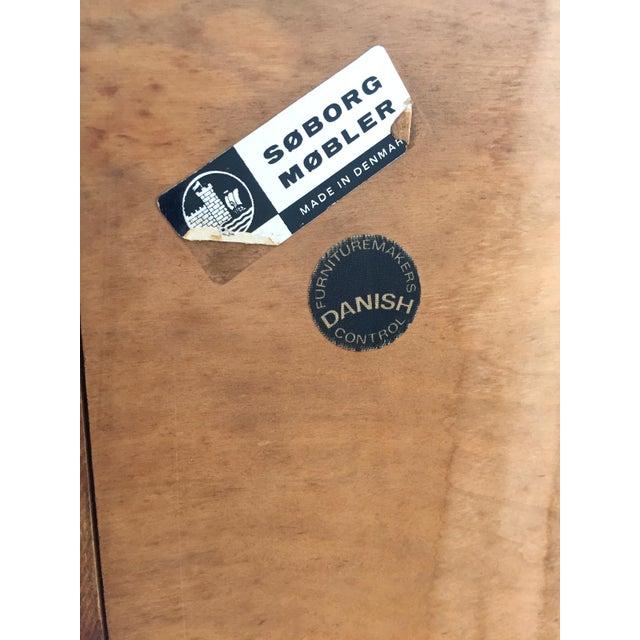 Brown Børge Mogensen Teak Highboy Dresser For Sale - Image 8 of 8
