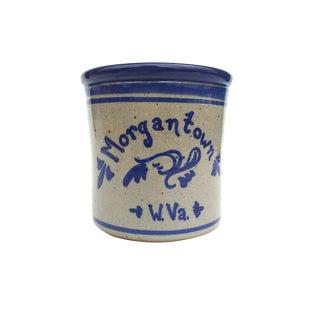 Shaffer Pottery Salt Glaze Stoneware Crock