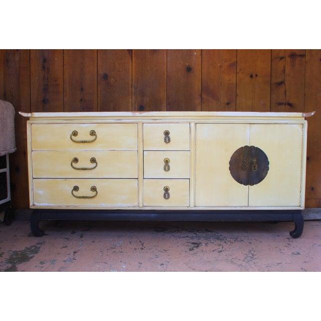 1960s Mid-Century Modern Kent Coffey Amerasia Series Solid Wood Dresser For Sale - Image 11 of 11