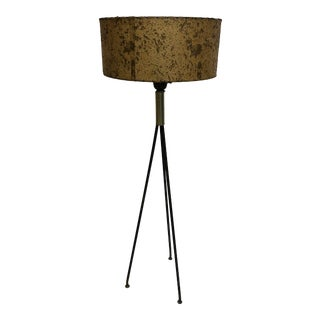 Vintage Mid Century Modern Tripod Floor Lamp by Gerald Thurston For Sale