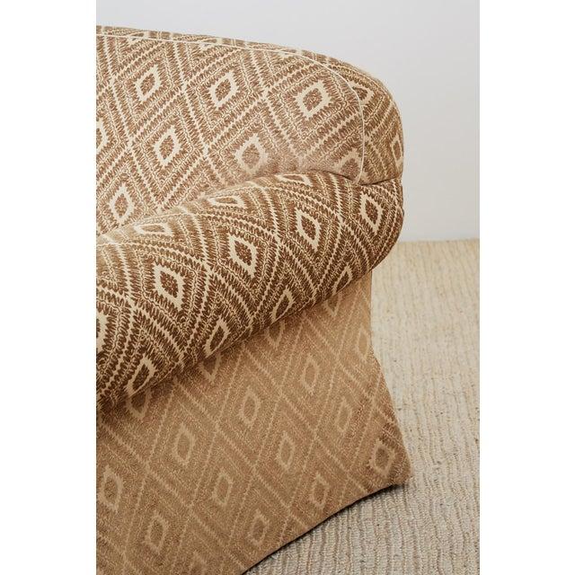 Jonas New York English Style Three-Seat Sofa For Sale - Image 9 of 13
