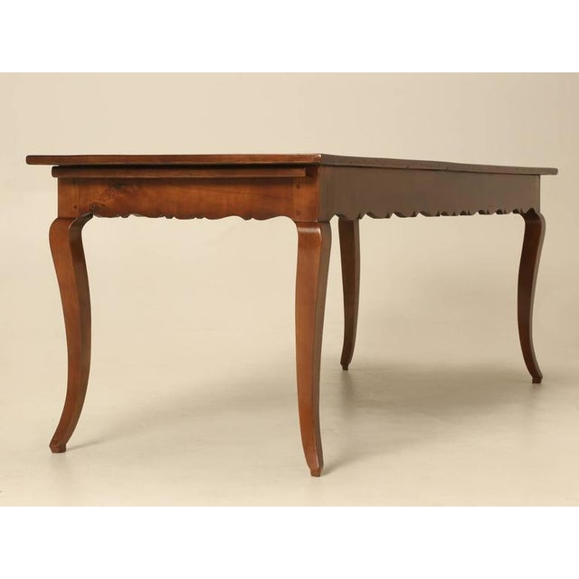 Brown Antique French Dining Table For Sale - Image 8 of 10