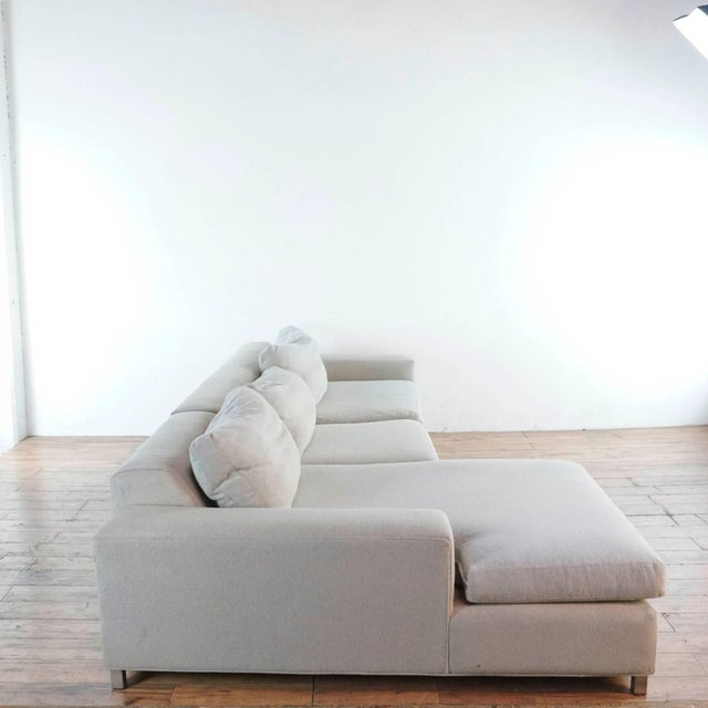 2010s Room & Board Upholstered Sectional Sofa For Sale - Image 5 of 11