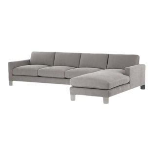 Gray Spring Street Sectional For Sale