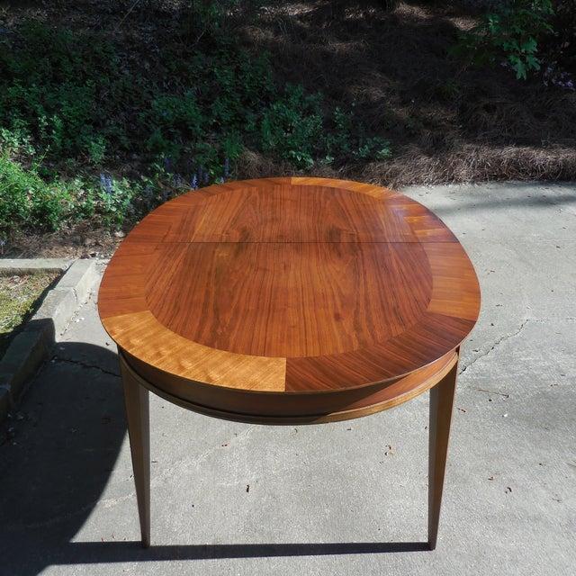 Mid-Century Lane Wood Dining Set - Image 3 of 9