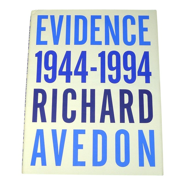 Richard Avedon: Evidence, 1944-1994 1st Edition - Image 1 of 3