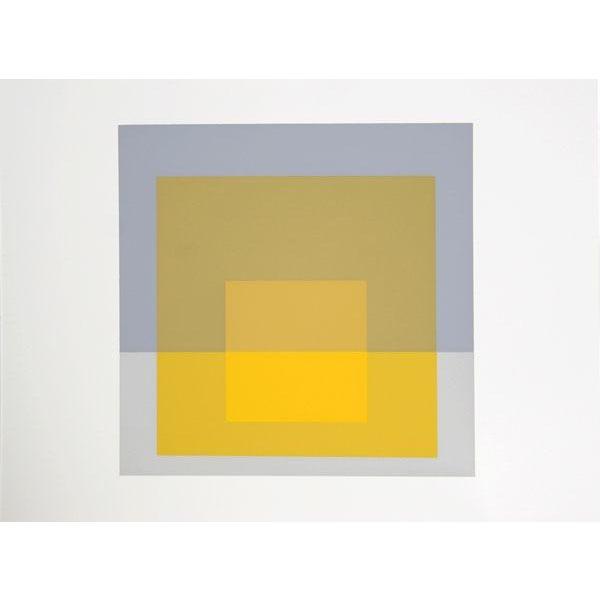 "Josef Albers ""Portfolio 2, Folder 5, Image 1"" Print - Image 2 of 3"