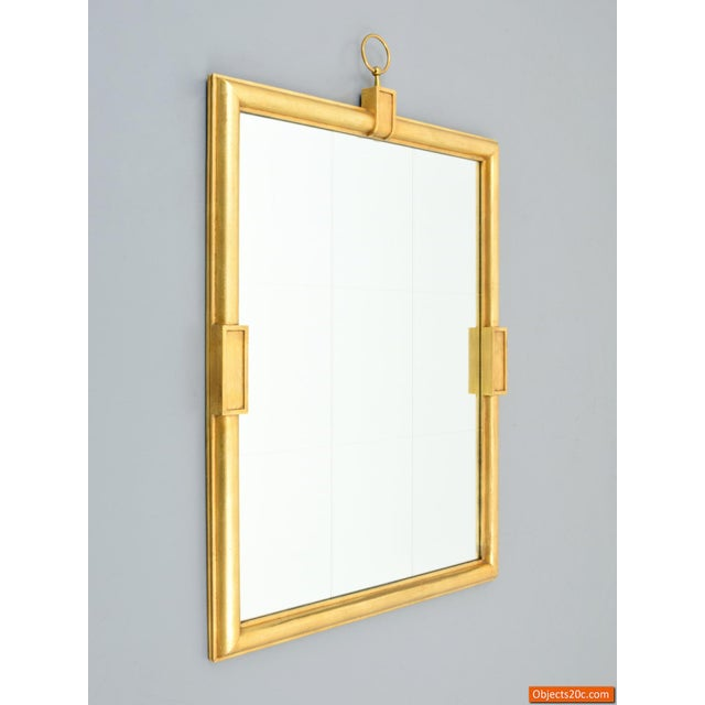 Mid 20th Century Large Tommi Parzinger Mirror For Sale - Image 5 of 10