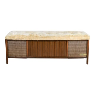 Mid Century Modern Magnavox Converted Bench For Sale