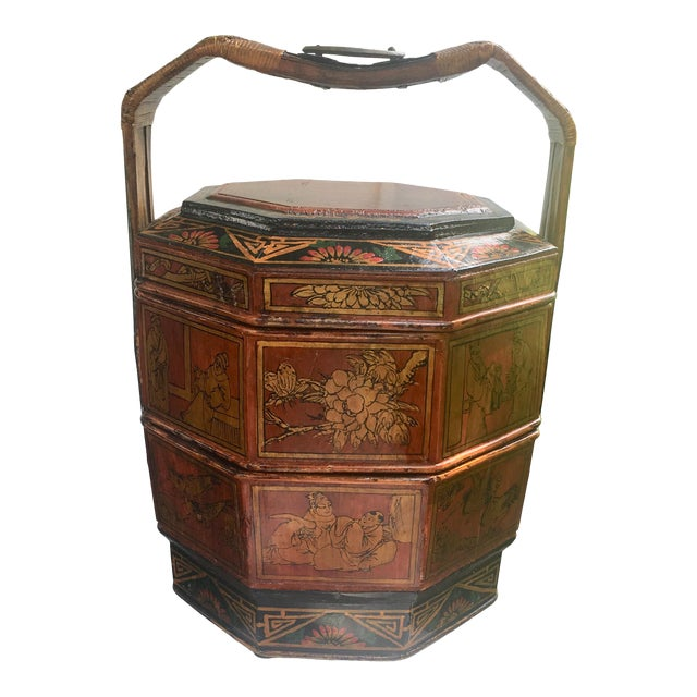 Chinese Wedding Basket For Sale