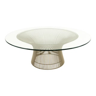 Warren Platner for Knoll Mid-Century Coffee Table For Sale