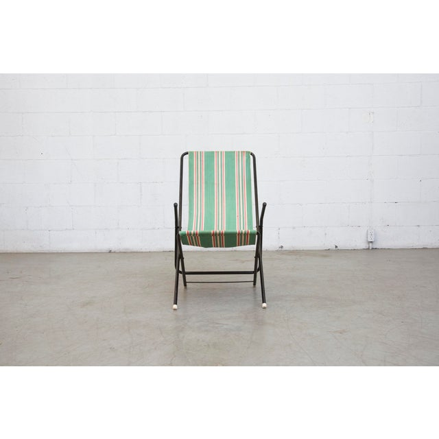 Vintage Pilastro Style Beach Sling Chair - Image 2 of 10