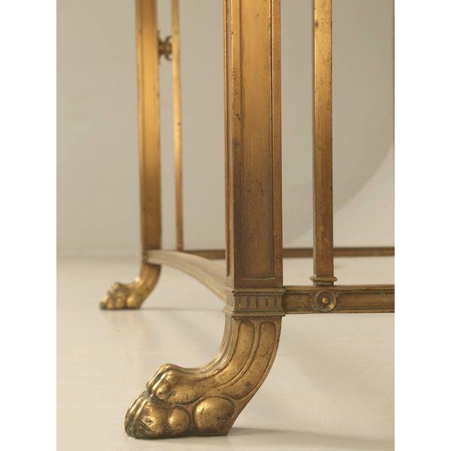 Bronze Vintage Bronze Table or Kitchen Island Base For Sale - Image 7 of 11