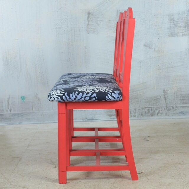 Arts & Crafts Style Chair Bench - Image 4 of 6