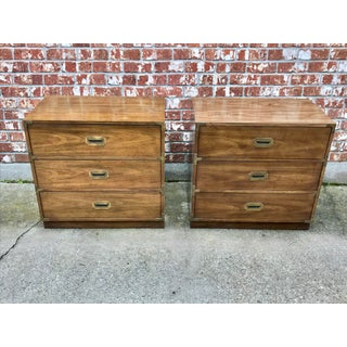 1970's Campaign Bernhardt Chests With Hutches - 4 Pieces Preview
