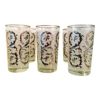 Vintage Silver Cocktail Glasses For Sale
