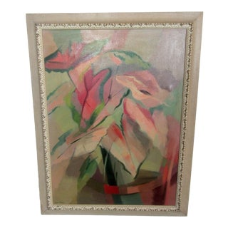 Abstract Oil Painting by Anne Taylor For Sale