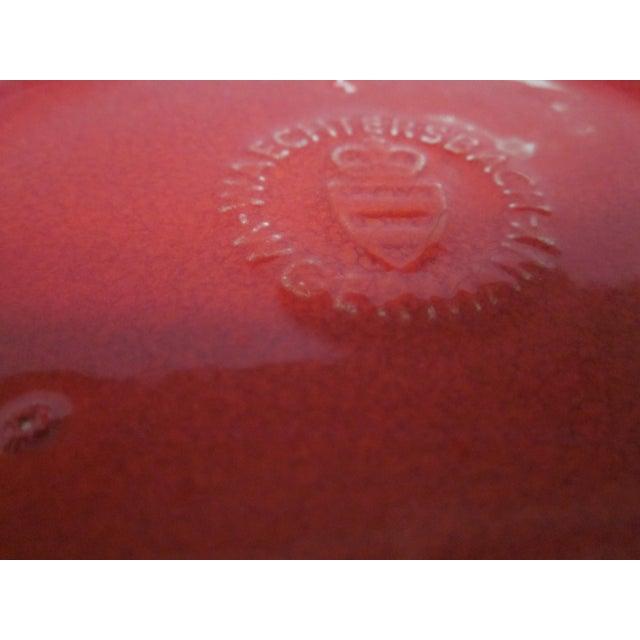 Waechtersbach German Red Heart Teapot - Image 5 of 7