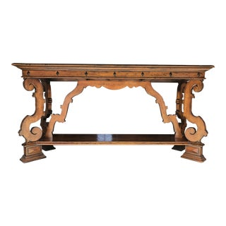 Henredon Castellina Wooden Cradenza For Sale