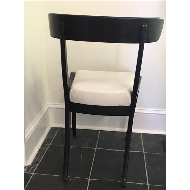 1930s Ebonized Klismo Chairs - Set of 4 - Image 8 of 10