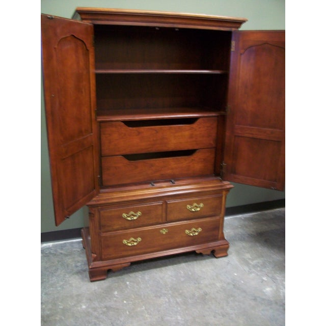Thomasville Collectors Cherry Armoire - Image 3 of 11