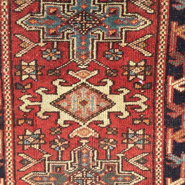 "Vintage Karajeh Persian Rug - 1'11"" X 2'5"" - Image 4 of 9"