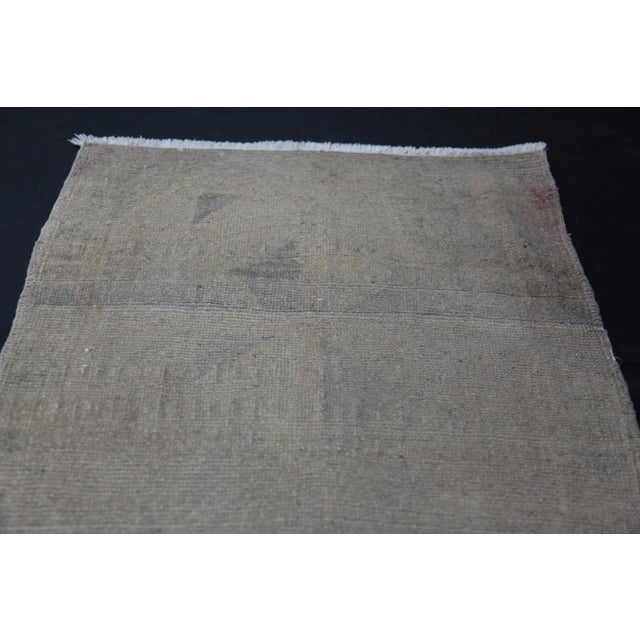 """Turkish Wonderful Muted Color Rug - 1'10"""" x 3'5"""" For Sale - Image 3 of 8"""