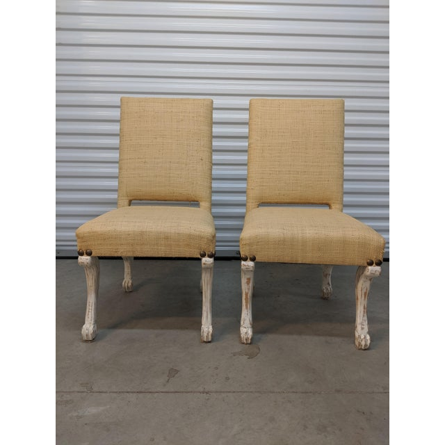 John Dickinson Style Chairs- A Pair For Sale - Image 12 of 12