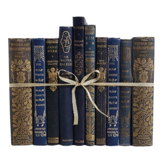 Vintage Book Gift Set: Midnight Classics, S/10
