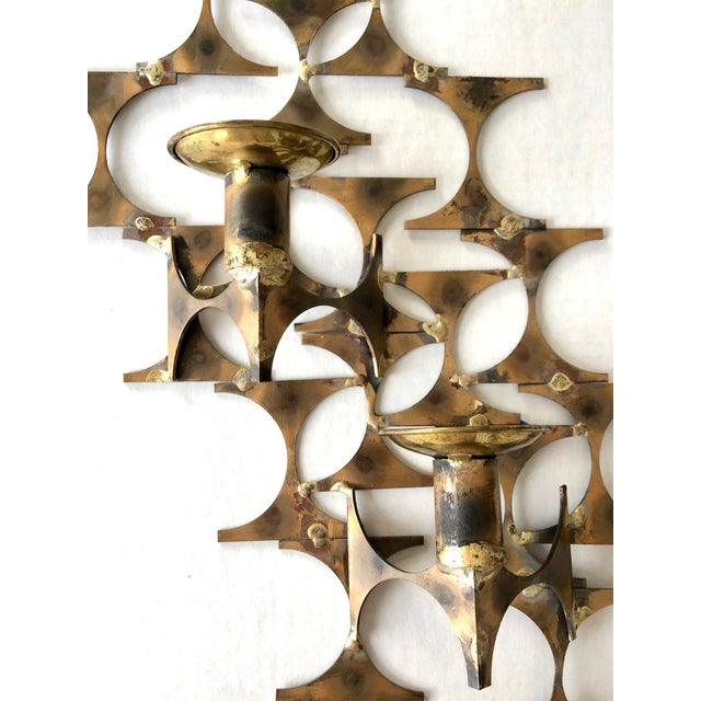 Modern Wall Sconce Sculpture by Mark Weinstein For Sale - Image 10 of 12