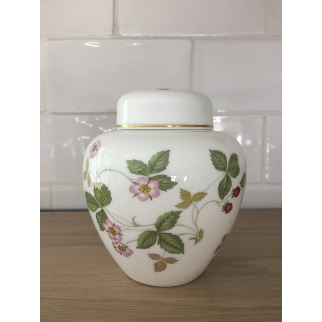 Petite Wedgewood Wild Strawberry Ginger Jar For Sale In Boston - Image 6 of 7