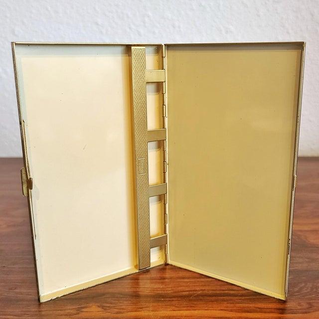 Metal 1940s Volupté Cigarette Case For Sale - Image 7 of 11