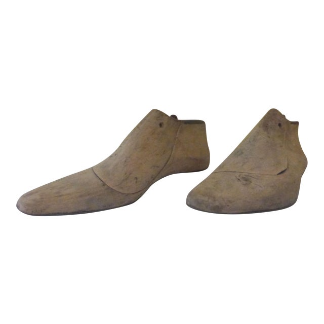 Vintage Shoe Molds - Pair - Image 1 of 7