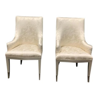Caracole You're Invited Dining Chairs - A Pair For Sale