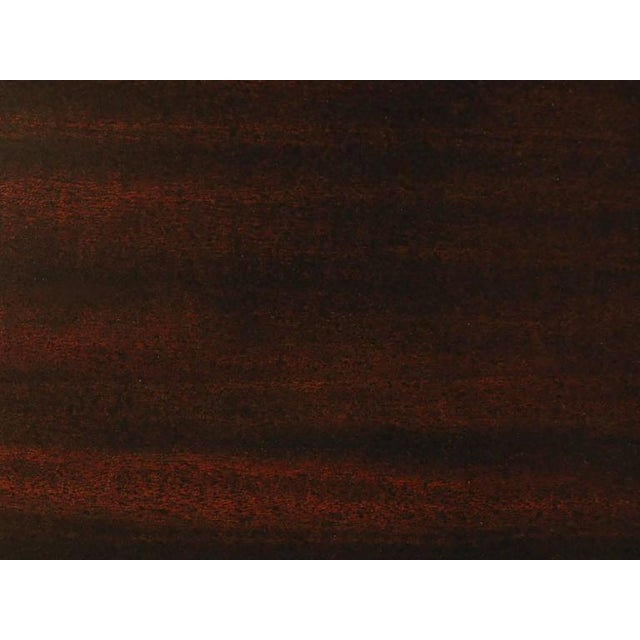 Landstrom Furniture Ribbon-Mahogany and Distressed Nickel Eight-Drawer Dresser For Sale In Chicago - Image 6 of 8