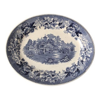 Thomas Hughes & Son Ironstone Platter For Sale