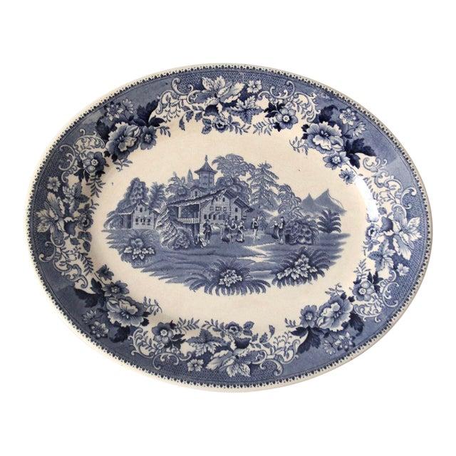 Thomas Hughes & Son Ironstone Platter For Sale
