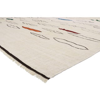 Vintage Turkish Large Kilim Rug- 10′10″ × 13′10″ Preview