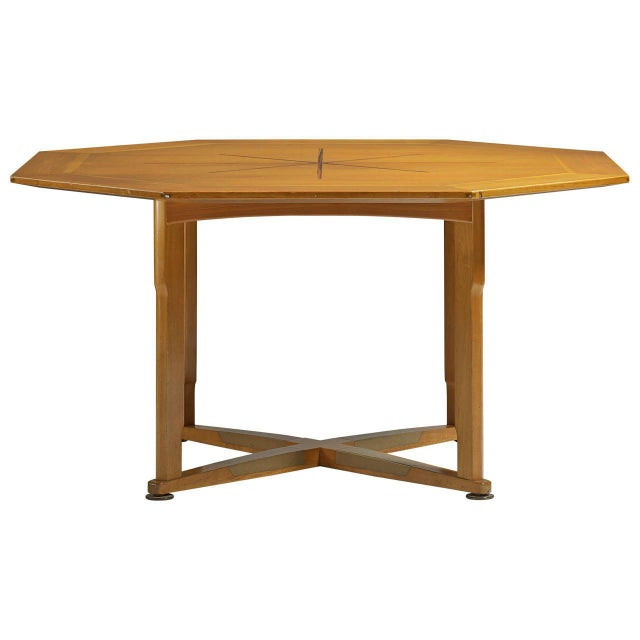Dunbar Furniture Edward Wormley Janus Game Table For Sale - Image 4 of 4