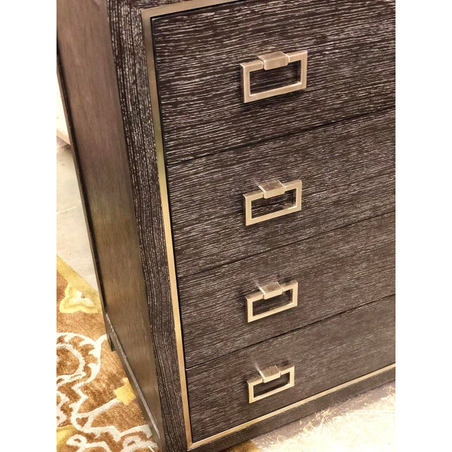 Traditional Traditional 8-Drawer Lowboy Dresser For Sale - Image 3 of 6
