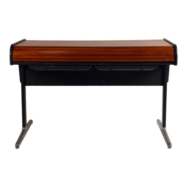 'Action Office 1' Roll Top Desk by George Nelson for Herman Miller For Sale