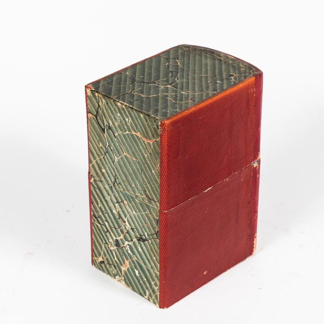 Red Book Boxes With Blue Interior - Collection of 22 For Sale - Image 4 of 7